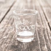 Lawful Good - Know Your Role - Shot Glass