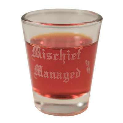 2oz Mischief Managed Shot Glass