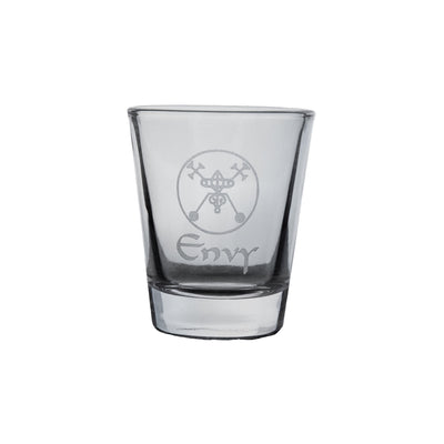 2oz Seven Deadly Sins ENVY Shot Glass R1