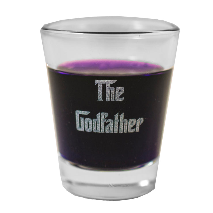 2oz Godfather Shot Glass
