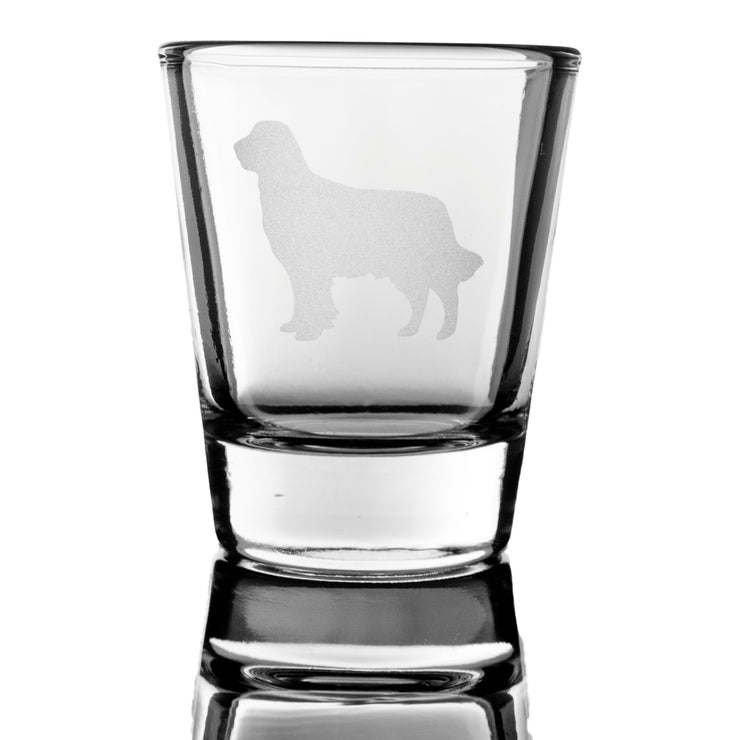 Golden Retriever dog puppy Shot Glass