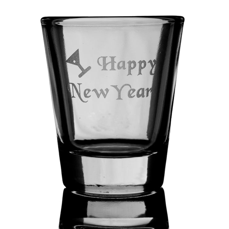 Happy New Year SHOT GLASS