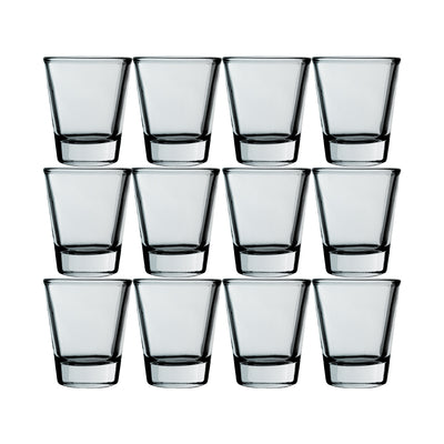 2oz Set of 12 Shot Glasses