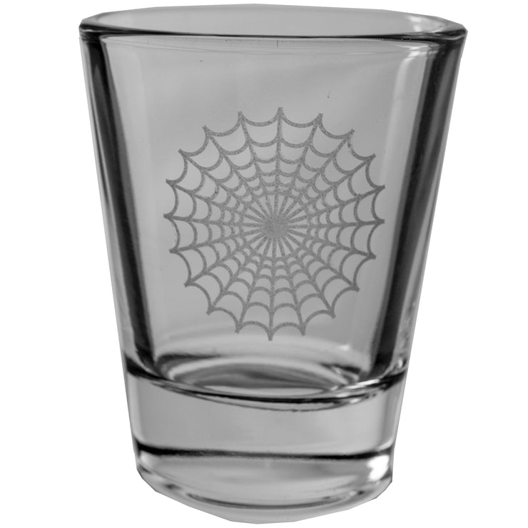 Spider Web Shot Glass