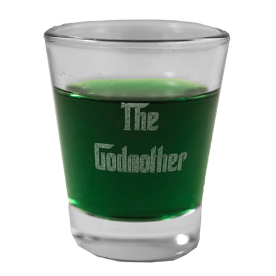 2oz Godmother Shot Glass