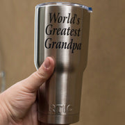 30oz World's Greatest Grandpa RTIC Mug L1