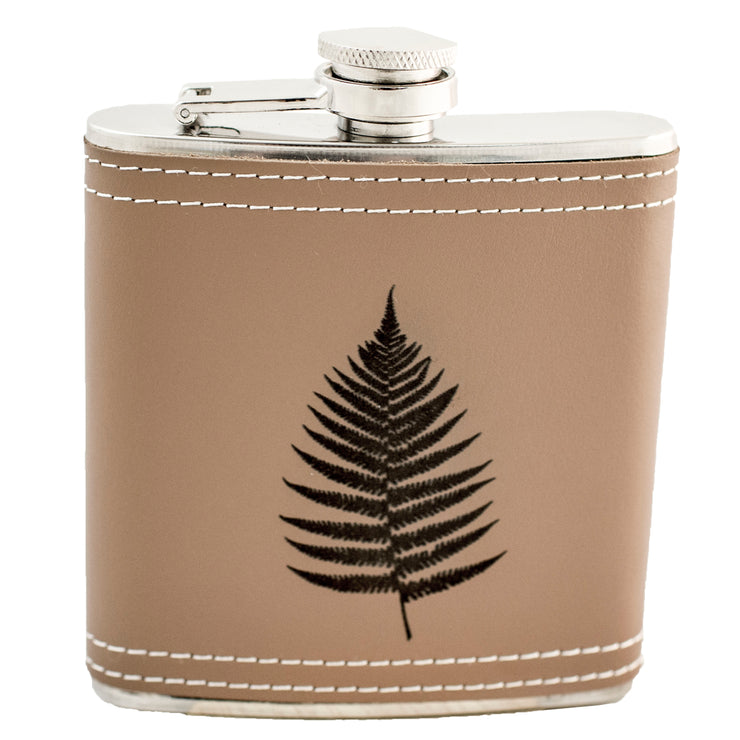 6oz Fern Leaf KLB Flask L1