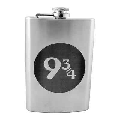 8oz 9 and Three Quarters Flask L1