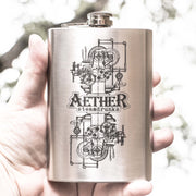 8oz Aether Steamdrunks Flask L1