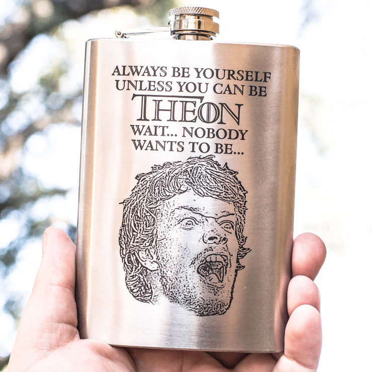 8oz Always Be Yourself - Theon Flask L1