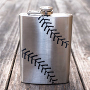 8oz Baseball Flask L1