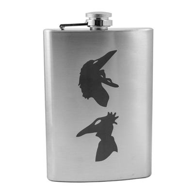 8oz Be Scary Flask L1
