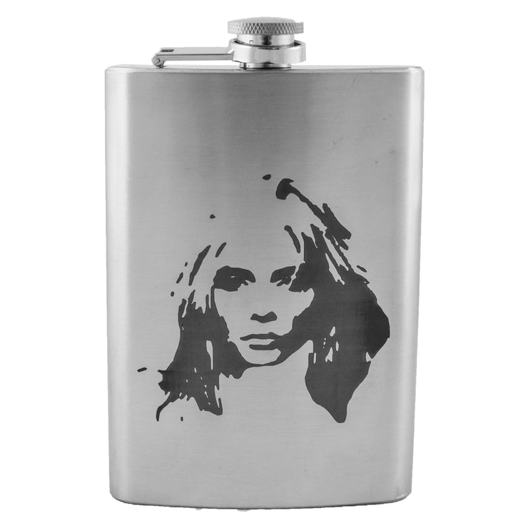 8oz Blondie Flask L1