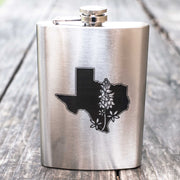 8oz Bluebonnet - Texas Flask L1