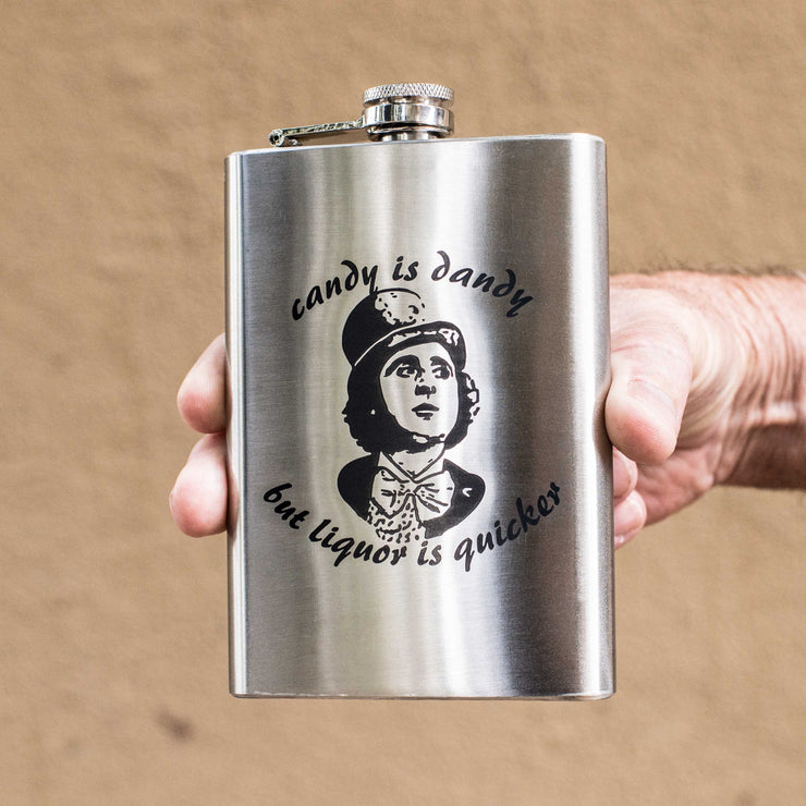 8oz Candy is Dandy Flask L1