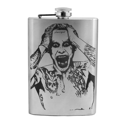 8oz Damaged Flask L1