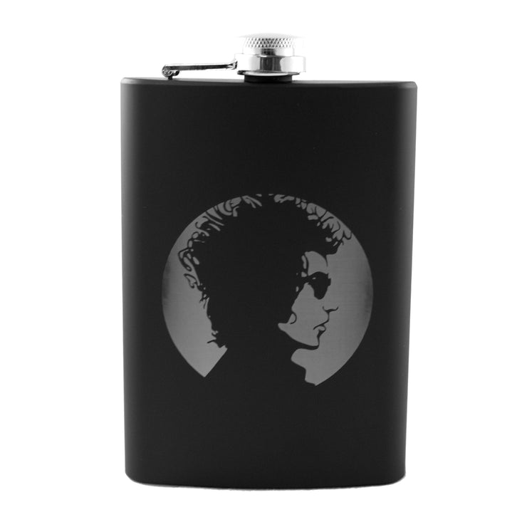 8oz BLACK Dylan Flask L1