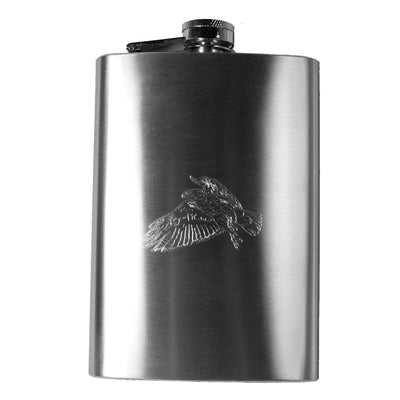 8oz Eagle Detailed with Talons Hip Flask R1