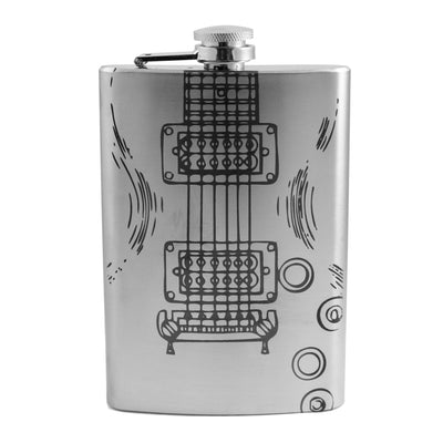 8oz Electric Guitar Flask L1
