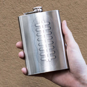 8oz Football Flask L1