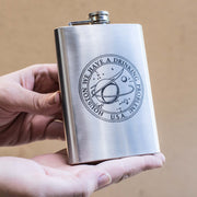 8oz Houston We Have a Drinking Problem Flask L1