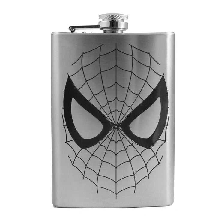 8oz I Can Do What a Spider Can Flask L1