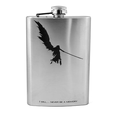 8oz I Will Never Be a Memory - Evil - Flask L1