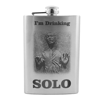8oz I'm Drinking Solo Flask L1