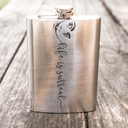 8oz Life is Surreal Flask L1