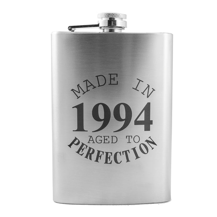 8oz Made in 1994 Aged to Perfection Flask L1