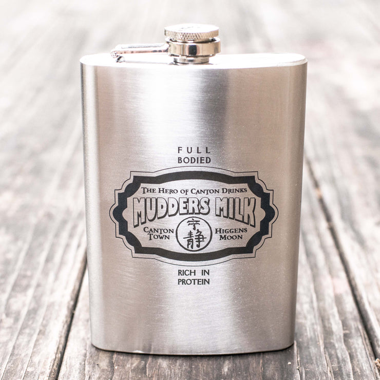 8oz Mudders Milk Flask L1