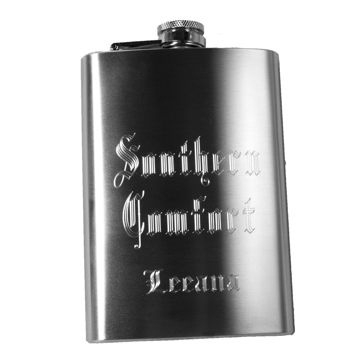 8oz Southern Comfort Hip Flask R1