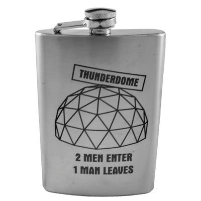 8oz Thunderdome Flask L1