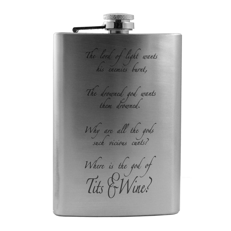 8oz The Lord of Light Flask L1