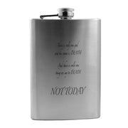 8oz There Is Only One God Flask L1