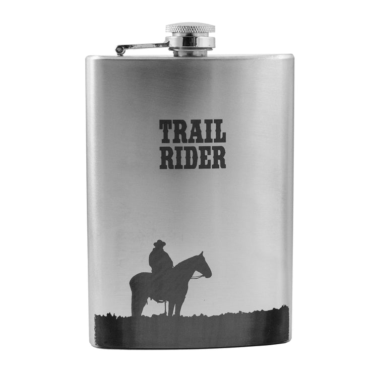 8oz Trail Rider Flask L1
