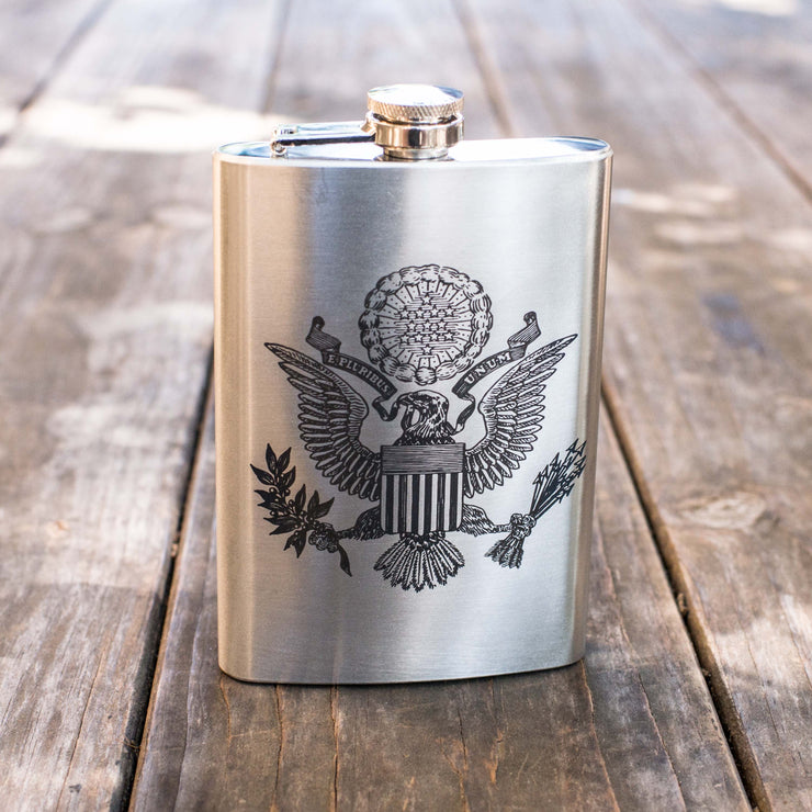 8oz USA Seal Flask L1