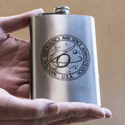 8oz Vintage NASA Flask L1