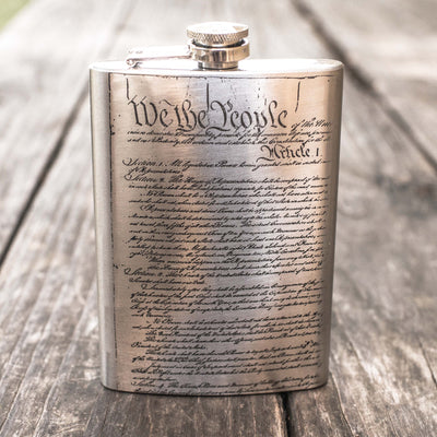 8oz We the People Flask L1