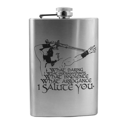 8oz What Daring Flask L1