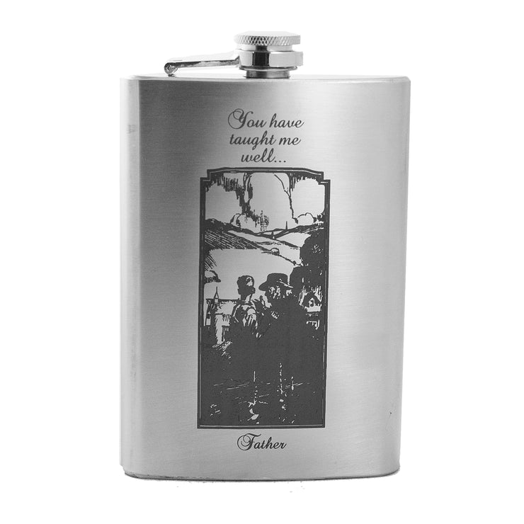 8oz You Have Taught Me Well Flask L1