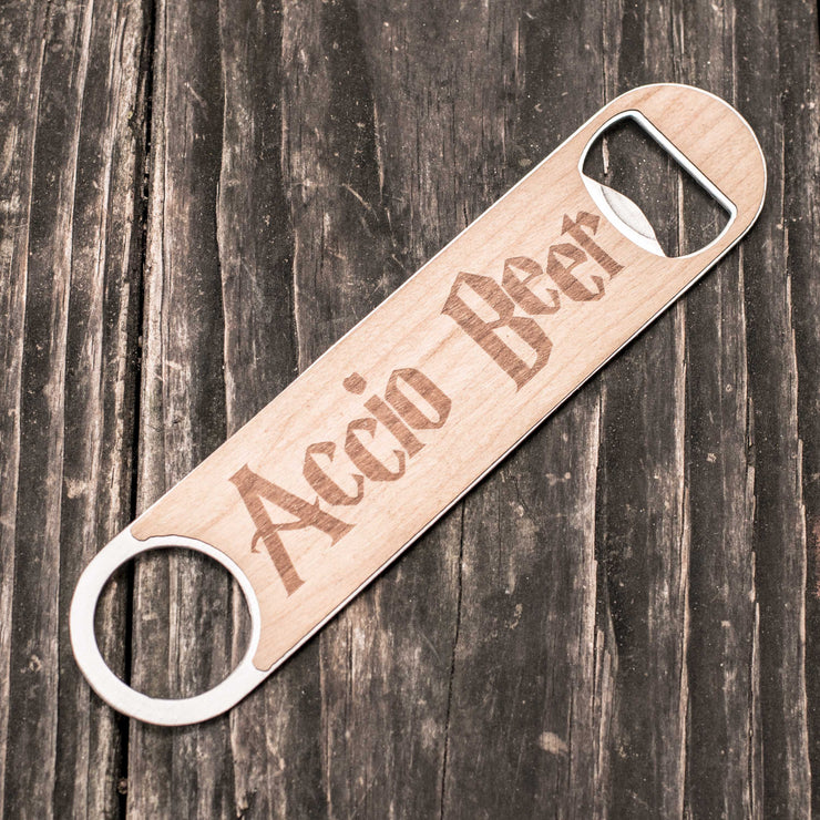 Accio Beer - Wooden Bottle Opener