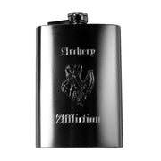 8oz Archery Affliction Bow Hunters Hip Flask