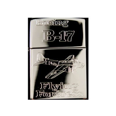 Lighter - B-17 Flying Fortress High Polish Chrome R1