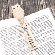 Be Wise - Bookmark