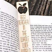 Best Teacher in the Whole Wide World - Bookmark