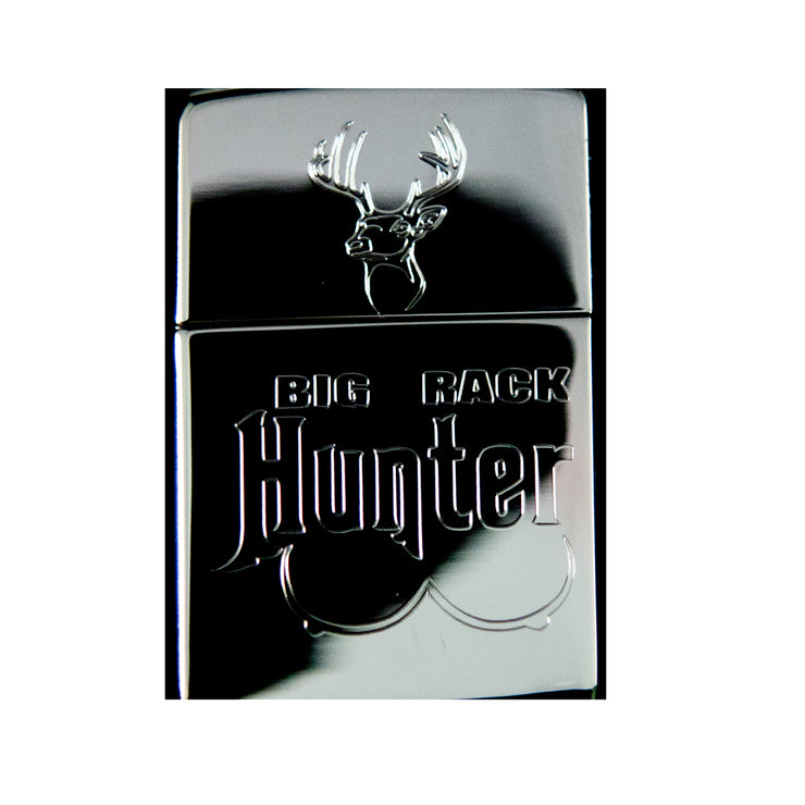 Lighter - Big Rack Hunter High Polish Chrome R1
