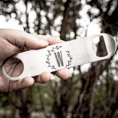 Branches with Initial - Bottle Opener
