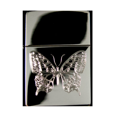 Lighter - Butterfly One High Polish Chrome R1