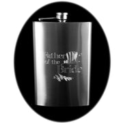 8oz Father of the Bride Hip Flask R1